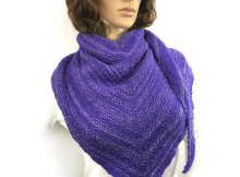 Asymmetrical Shawl - Free Knitting Pattern