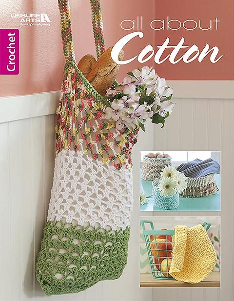 All About Cotton Crochet Pattern Book Review Goddess Crochet