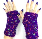 Totally Teen Fingerless Gloves - Free Crochet Pattern