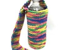 Water Bottle Holder - Free Knitting Pattern