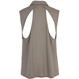 GREY CUT-OUT BACK SHIRT by River Island £16