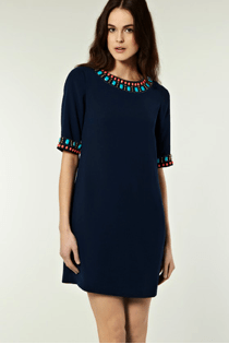 EMBELLISHED CUFF SHIRT DRESS by Warehouse EUR 97