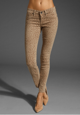 www.revolveclothing.com have a variety of printed jeans varying in price from $145 to $299