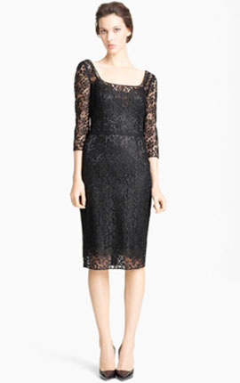 Dolce&Gabbana Lace Pencil Dress from Nordstrom  €1821