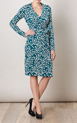 Diane Von Furstenberg  Zalda Bis dress (136522) €402.00 at www.matchesfashion.com