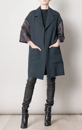 Money no object -Roksanda Ilincic  Oskar coat, €1,242.00 at www.matchesfashion.com