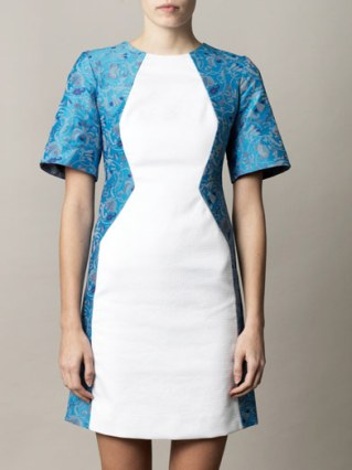 DESIGNER VERSION - Illusion jacquard dress by Richard Nicoll at matchesfashion.com £650