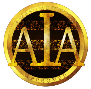 The coveted gold Awesome Indies Seal
