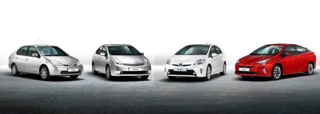 Toyota Prius - 4 generationer. Måske verdens bedste hybridbil?