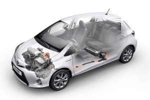 Toyota Yaris hybridbil