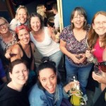 I got a right kick out of being local in Brighton with my people - I trained alongside a group of brilliant and practicing therapists.