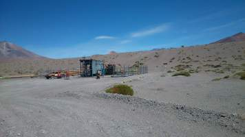 Monitoring and remote operation of water pumping systems - Codelco - Ojos de San Pedro Station 2