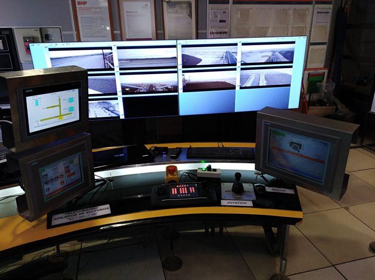 Teleoperation of Large Machines: Stacking Bridge 13, Spence, BHP