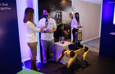 Experience 5G Movistar Spot Robot SK Godelius 2