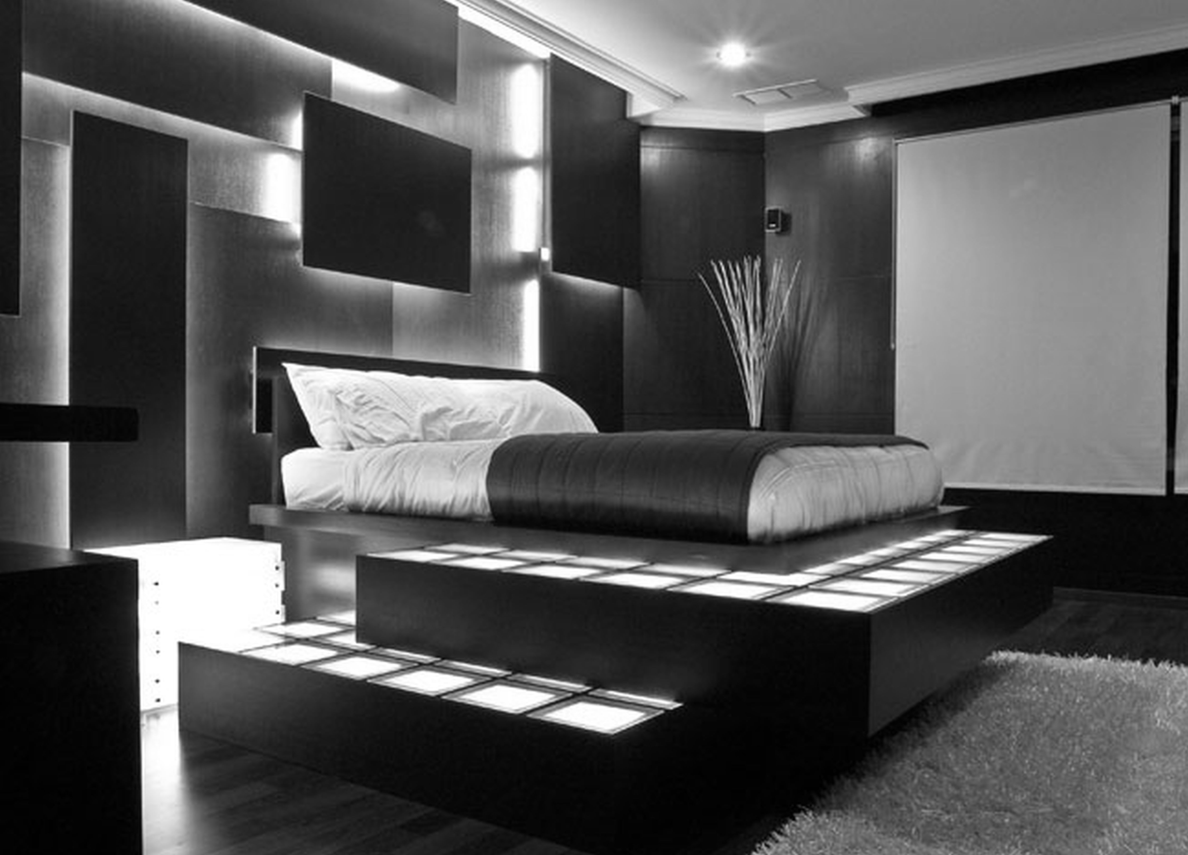 34 STYLISH MASCULINE BEDROOMS ....... - Godfather Style on Bedroom Ideas For Guys  id=42798