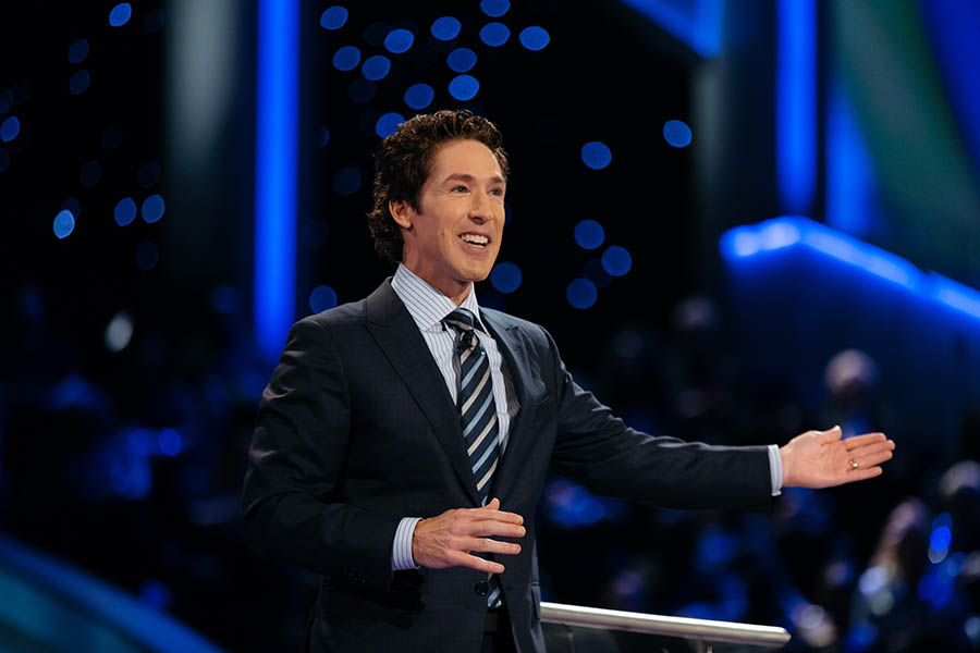 Encourage me – Prosperity Preaching – Joel Osteen