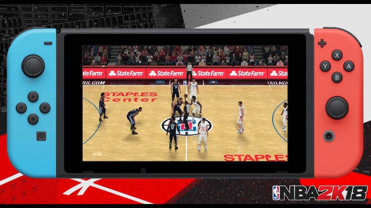 NBA 2K18 Nintendo Switch Commercial Released