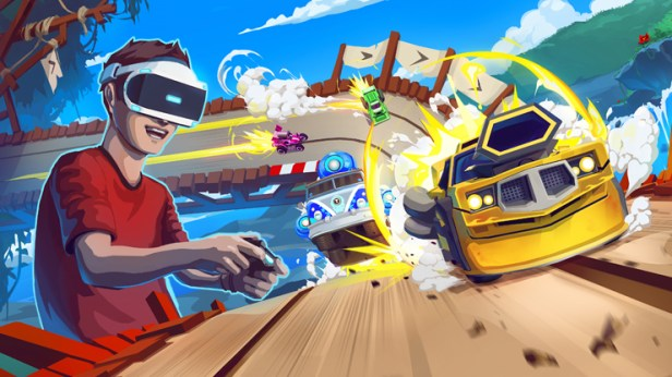 Image result for tiny trax psvr