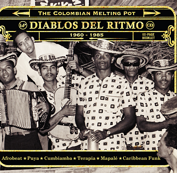 Various Artists 'Diablos Del Ritmo: The Colombian Melting Pot 1960 – 1985'  (Analog Africa)