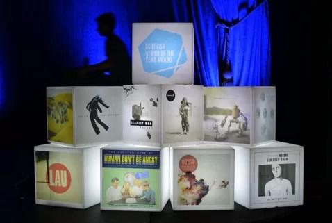 RM Hubbert wins Scottish Album of the Year Award
