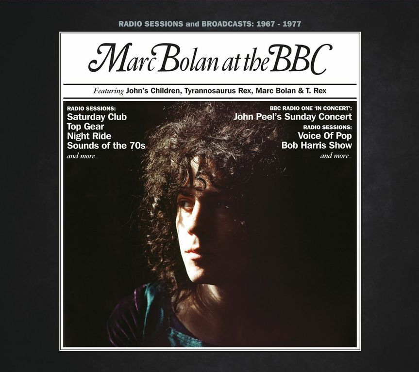Marc Bolan at the BBC: John's Children – Tyrannosaurus Rex – T.Rex (Universal)