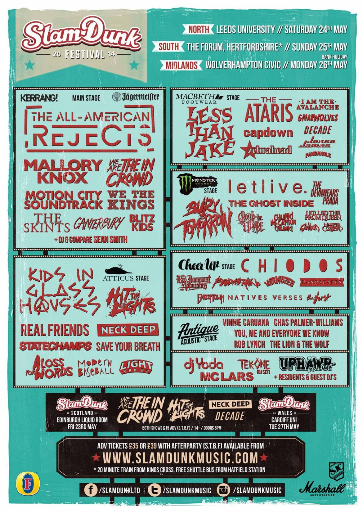 SLAM DUNK FESTIVAL Announces More Acts And Competition