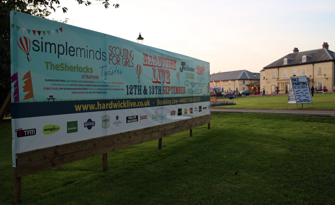 Hardwick Live Garden Party – 12th and 13th September 2014