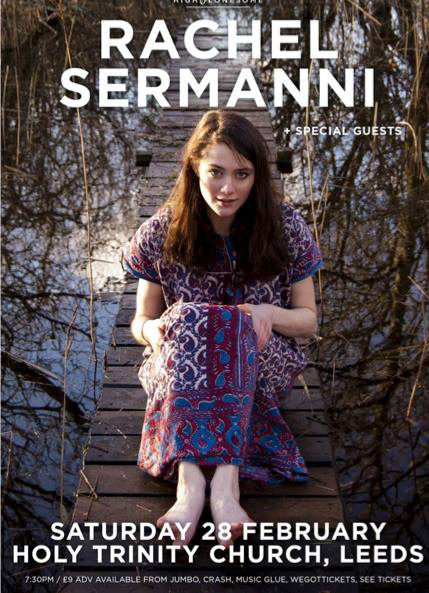 PREVIEW: Rachel Sermanni plays the Holy Trinity Church, Leeds