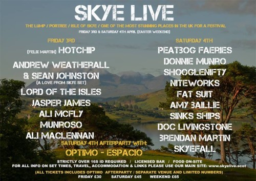NEWS: New music festival on Skye