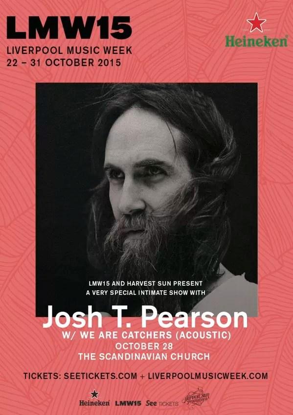 Josh T. Pearson – Scandinavian Seaman's Church, Liverpool, 28th October 2015