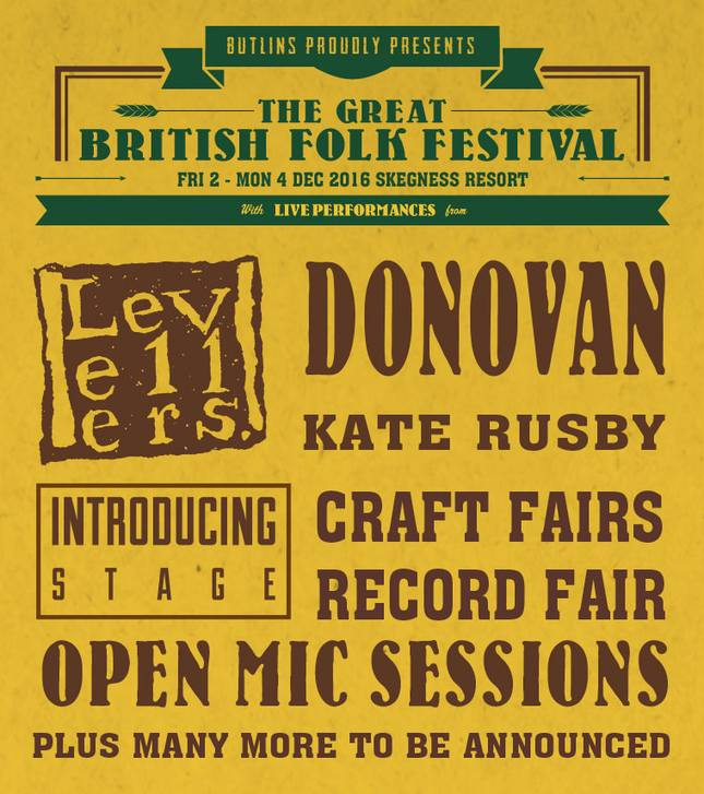 PREVIEW: The Great British Folk Festival 2016
