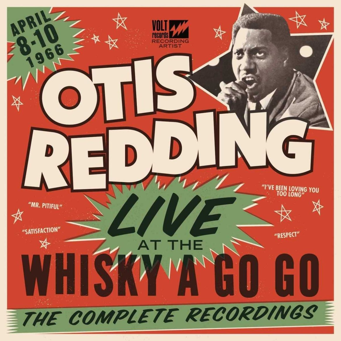 Otis Redding – Live At The Whisky A Go Go: The Complete Recordings (Stax / UMC)