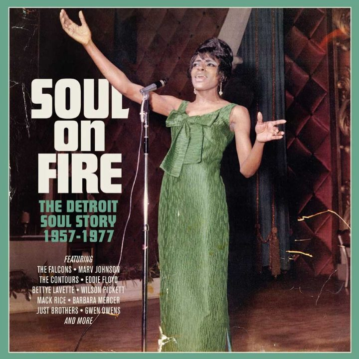 Various Artists – Soul On Fire – The Detroit Soul Story 1957-77 (Cherry Red)