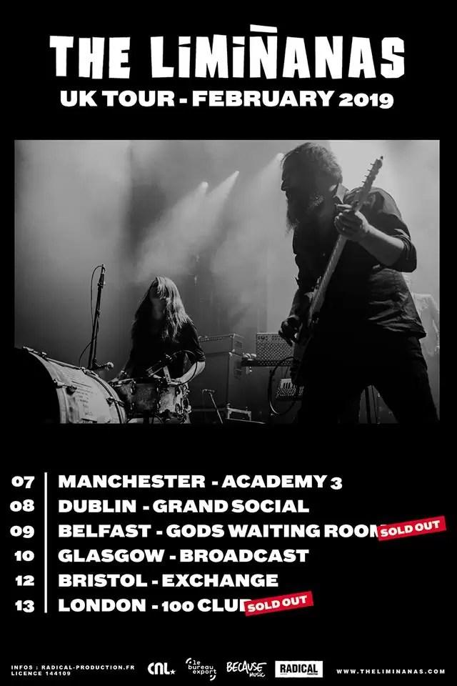 The Limiñanas, Academy 3 Manchester, 07/02/2019