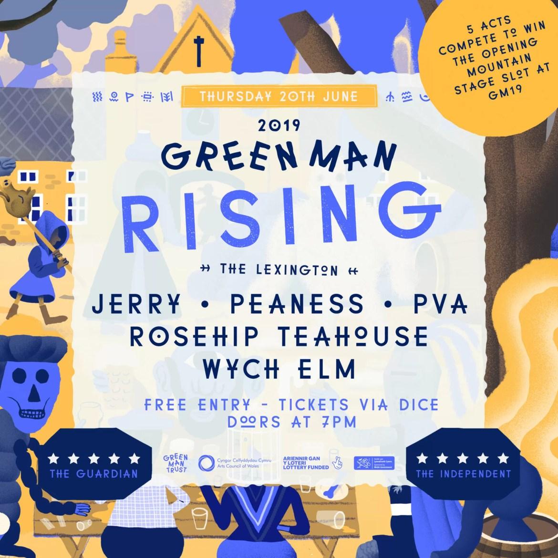 Green Man Rising – The Final – Tonight at The Lexington