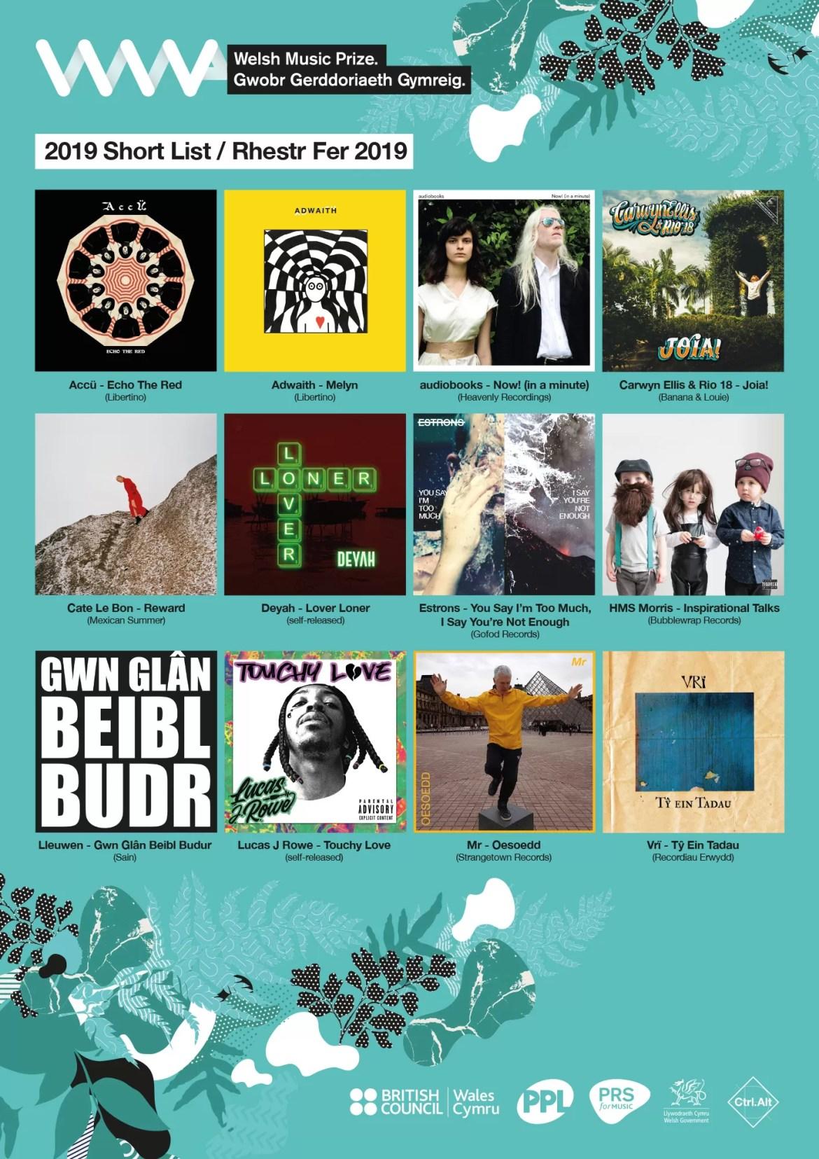 NEWS: Cate Le Bon, audiobooks, Adwaith, Accü & Deyah amongst Welsh Music Prize Nominees