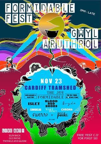 NEWS: Islet, Bryde, Chroma and Gwenno(DJ set) added to Formidable Fest