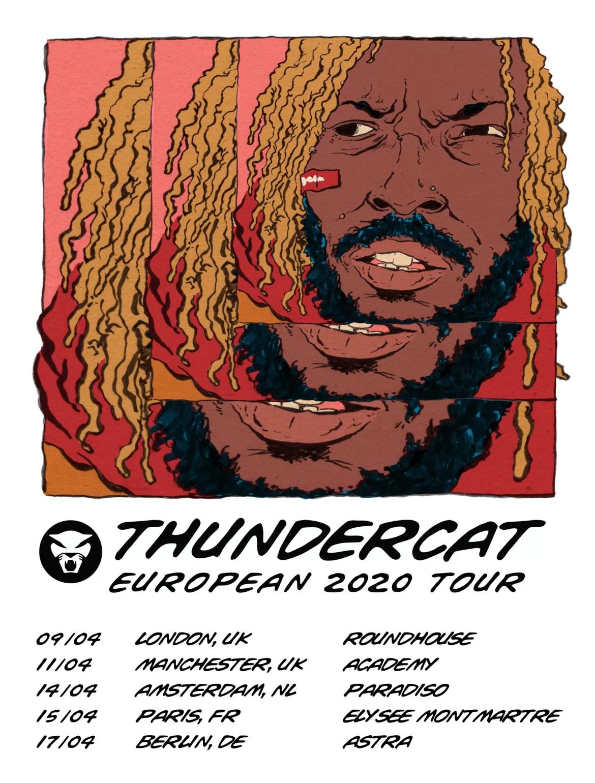 NEWS: Thundercat announces European tour dates