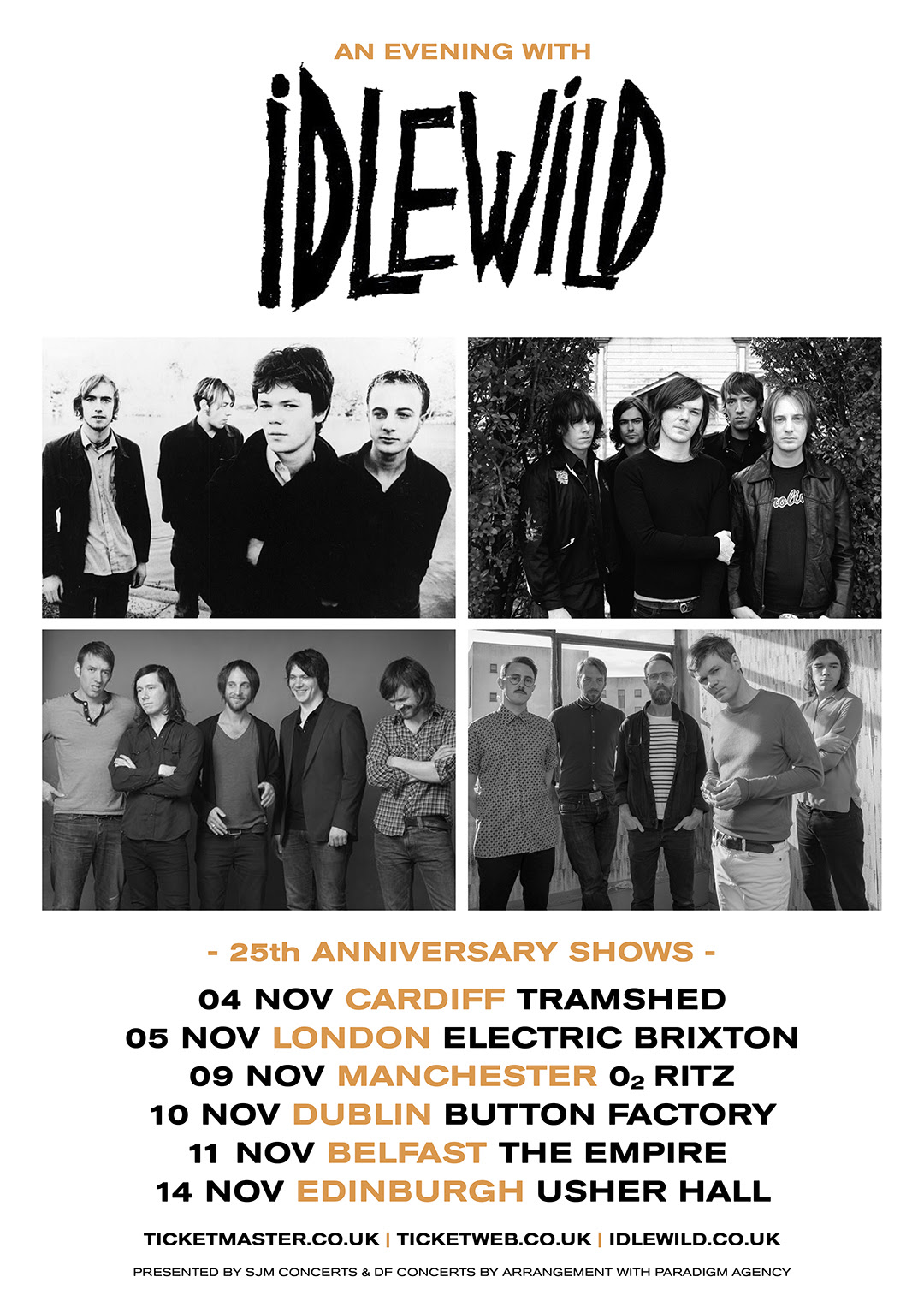 NEWS: Idlewild announce 25th anniversary shows for November