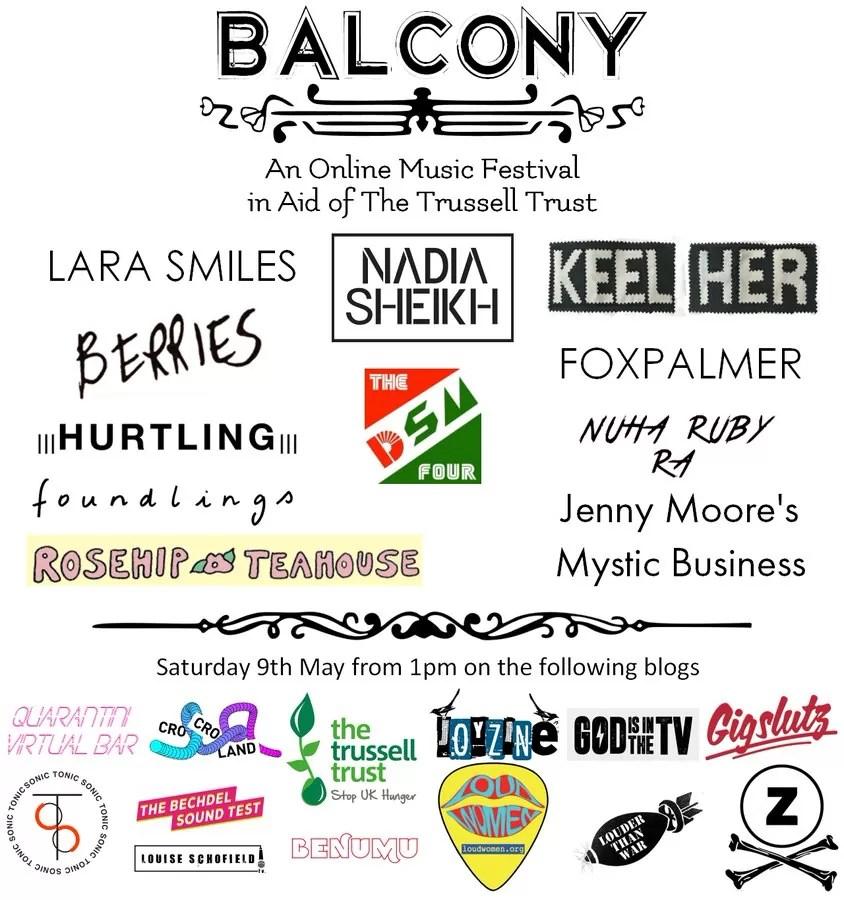 STREAM: Balcony Online Festival 4!