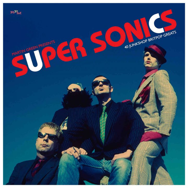 SUPER-SONICS Martin Green Presents: 40 Junkshop Britpop Greats (Cherry Red)