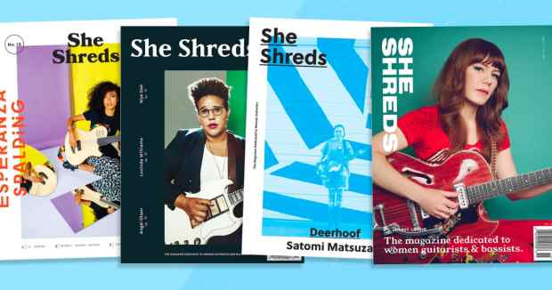 She Shreds