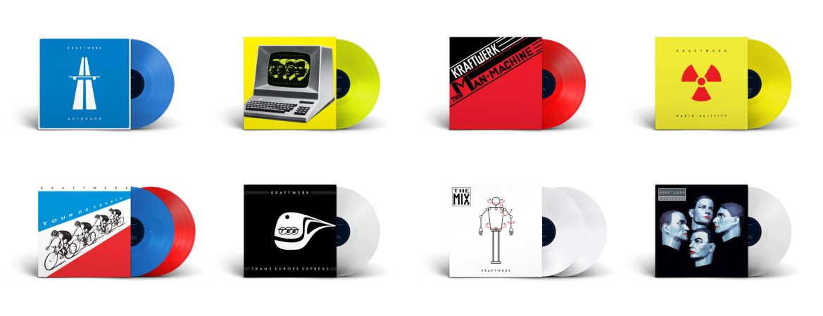 NEWS: Kraftwerk limited edition Coloured Vinyl LPs announced