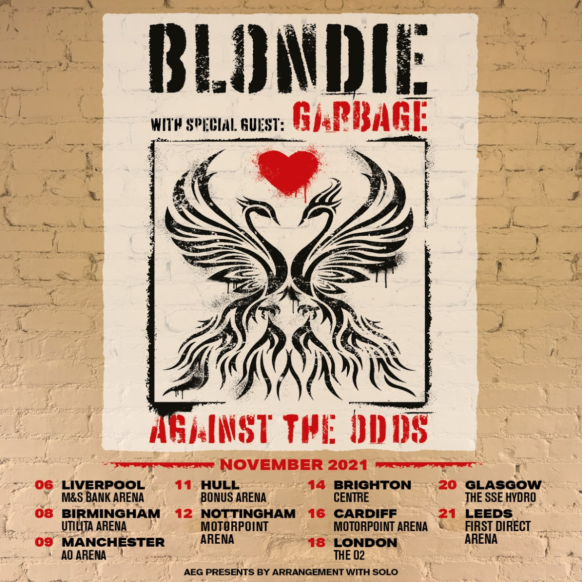NEWS: Blondie announce UK tour for 2021 supported by Garbage