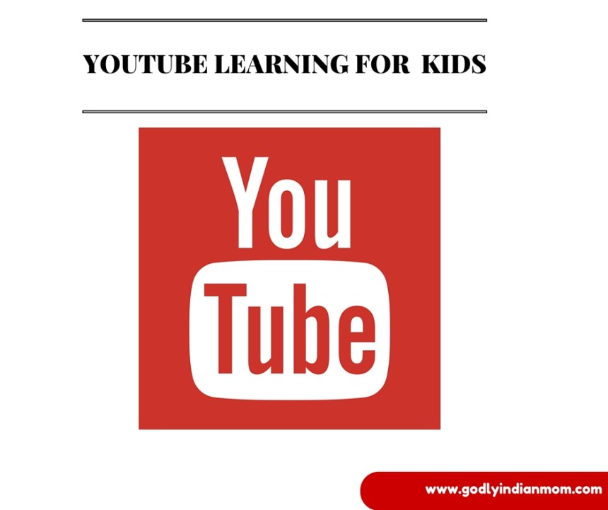 YOUTUBE LEARNING FOR KIDS