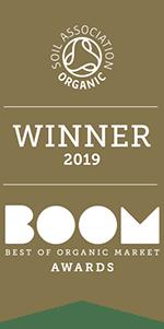 Vintage Organic Cheddar BOOM Gold Award