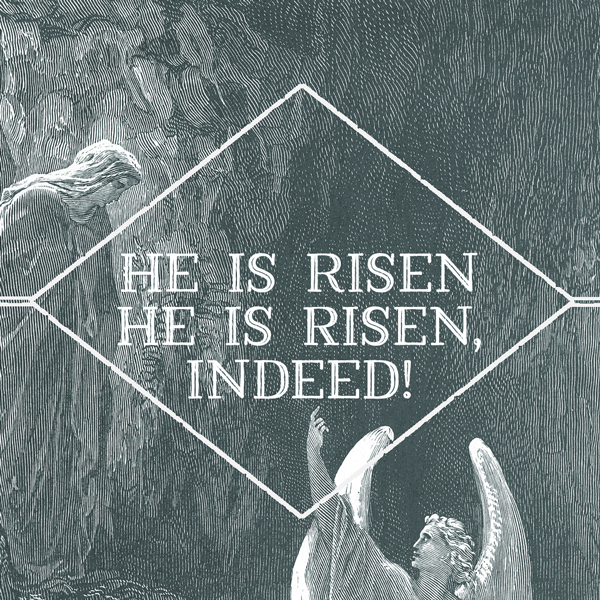 Image result for he is risen indeed