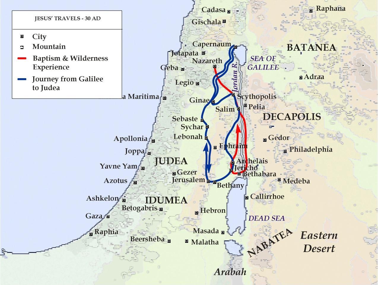 Jesus Travel Sidon Tyre