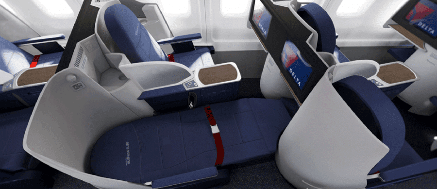 New 757-200 beds.