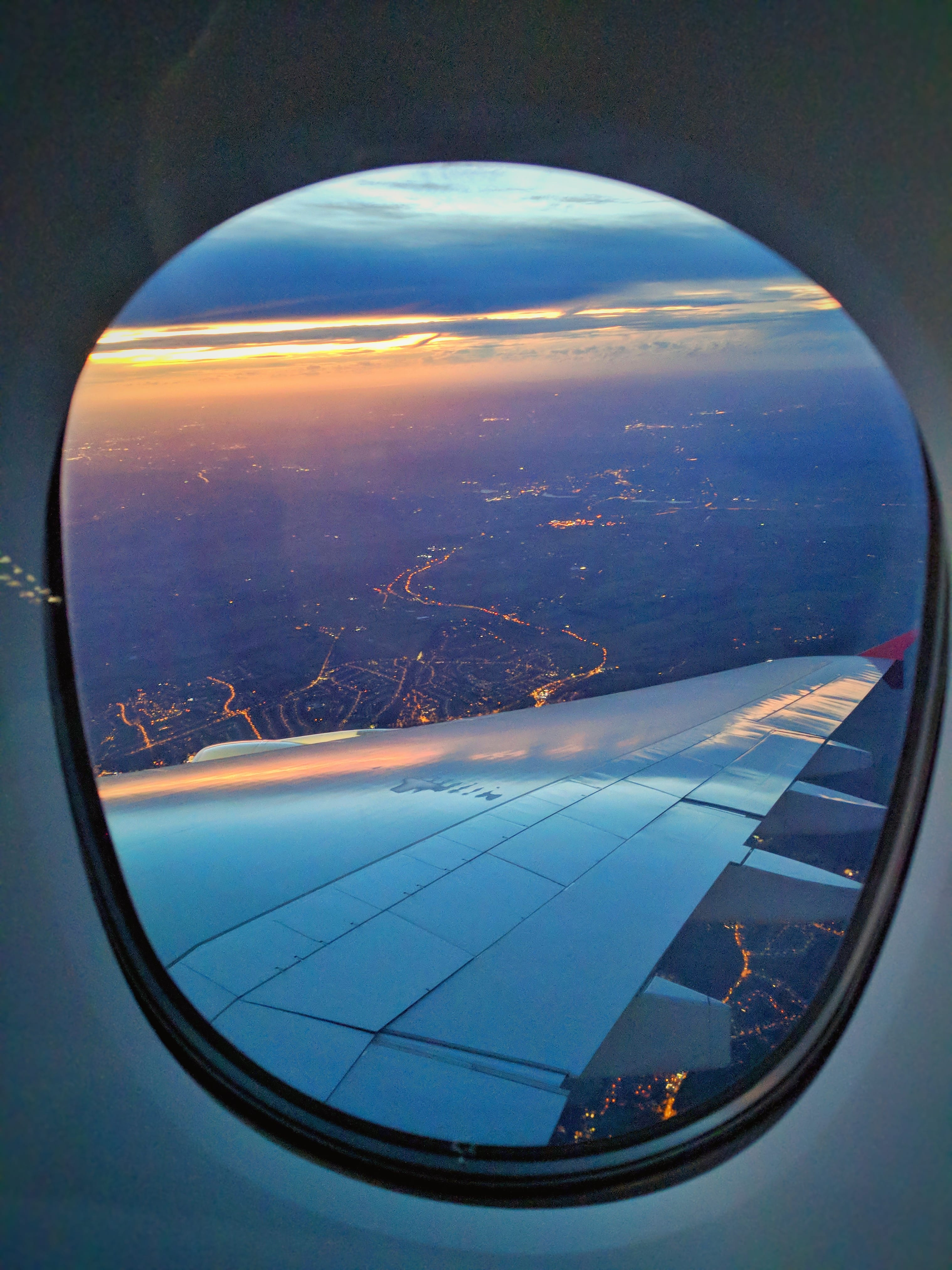 cool airplane window pictures